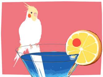 wip: cockatiel+cocktail by NaCl-y