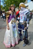 Sheik and Zelda - Salt Lake Comic Con 2014 by VFire