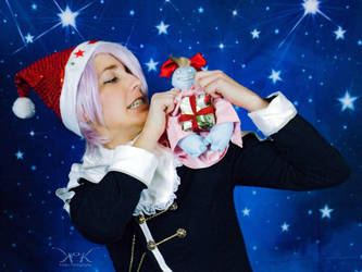 Merry Christmas from Pandora Hearts  by VFire