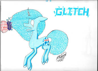 Glitch  ( pony island ) by Kodiiver