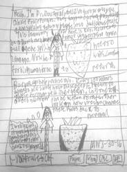 Doodle Dump: Comic 13 (Strawberry Origins) by KetchupManor