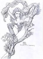 Poison Ivy by deemonHunter360