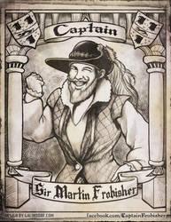 Captain Sir Martin Frobisher Portrait by Galindorf