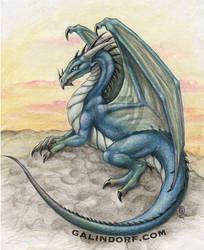 Dragon-Blue by Galindorf