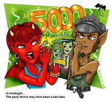 Scaries - Happy 5000 by Shannanigan