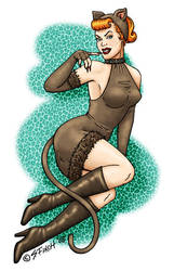 Here Kitty Kitty - PinUp by Shannanigan