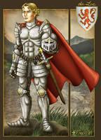 Lancelot du Lac by Shannanigan