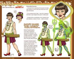 YSI Reference Sheet - Maya by Shannanigan