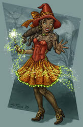 Witchy Poo by Shannanigan