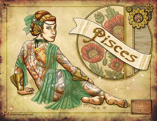 Cirque du Zodiac - Pisces by Shannanigan