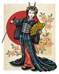 GDG - Geisha Samurai by Shannanigan