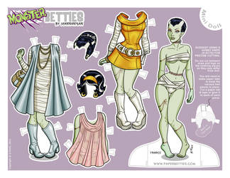 Paper Betties Mini - Fritzi by Shannanigan