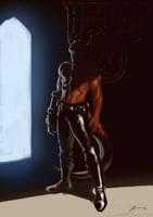 hellboy sketch by ROD-Windt