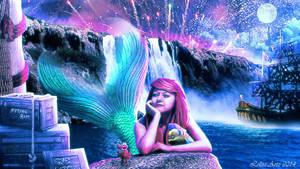 The Little Mermaid (wallpaper dowload for free) by Lolita-Artz