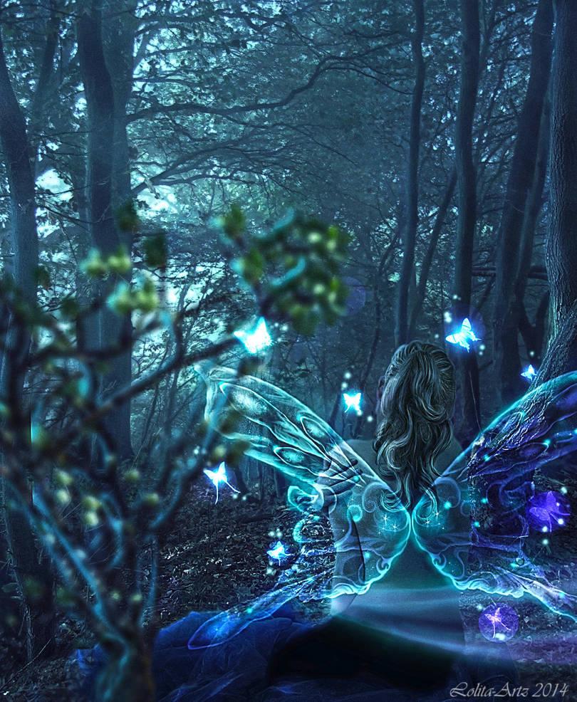 Glowing Fairy by Lolita-Artz
