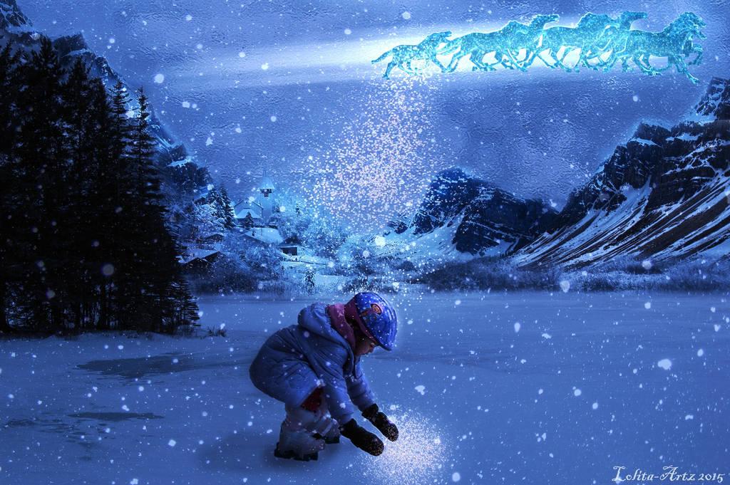 A Light In Winterland by Lolita-Artz