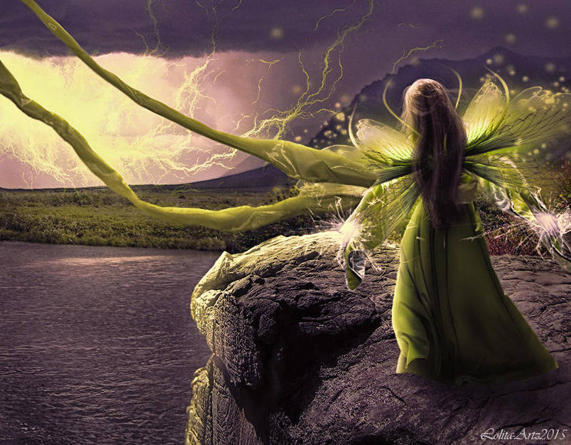 Lightning Fairy by Lolita-Artz