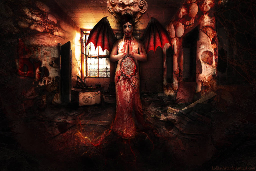 evil's eyes by Lolita-Artz