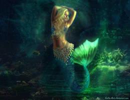 Atlantis goddess by Lolita-Artz