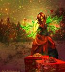 Xmas Fairy by Lolita-Artz