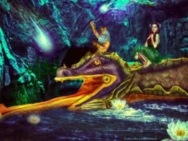 on my way to Atlantis by Lolita-Artz