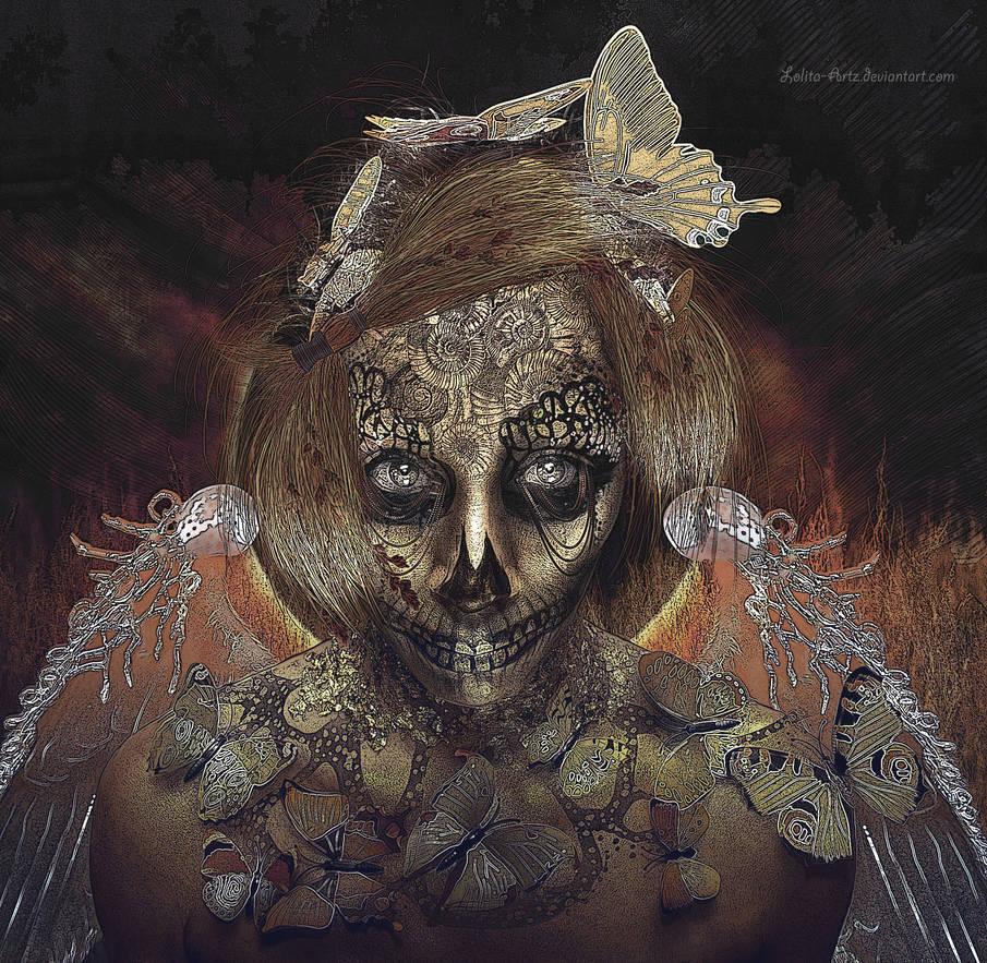 Dark butterfly by Lolita-Artz