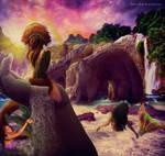 a peaceful world by Lolita-Artz