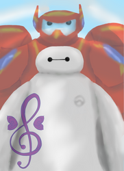 Baymax is there for you by Rock-fairy-art