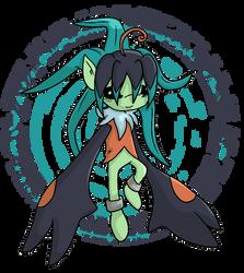 Digimon OC- Ylangmon by glitchgoat