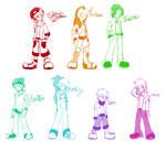 Digimon re:GEN: Monochrome Kids by glitchgoat