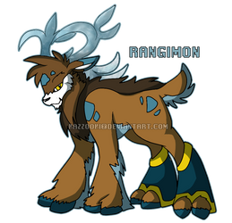 Rangimon by glitchgoat