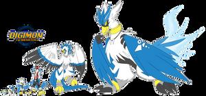 [digimon re:GEN] Kamomon Revamp by glitchgoat