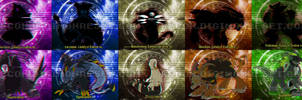 [digimon re:CON] Ultimate evolutions [pt 1] by glitchgoat