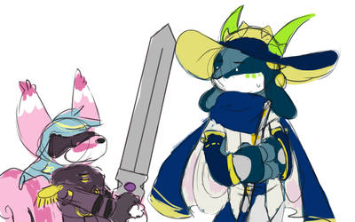 [p] i think we should give cotton a sword by glitchgoat