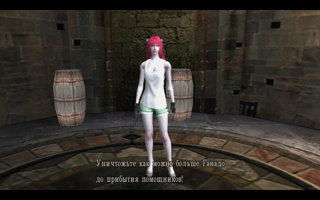'Resident Evil 4' Elfen Lied Lucy mod by lezisell