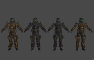 'Fallout 4' Marine Combat Armor XPS ONLY!!! by lezisell