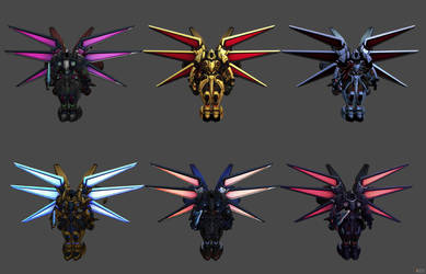 'Heroes of the Storm' Tyrael Mecha XPS ONLY!!! by lezisell