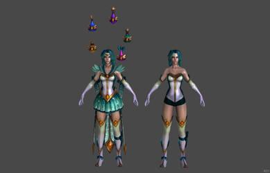 'Smite' Mystic Enchantress Nu Wa XPS ONLY!!! by lezisell
