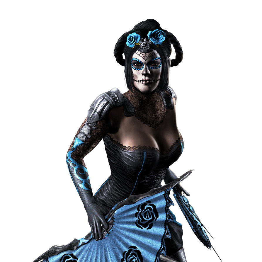 'Mortal Kombat X' Kitana (Day Of The Dead) XPS!!! By