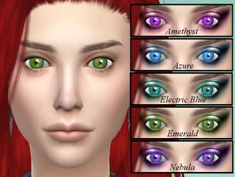 TS4 Custom Content Fantasy Eyes by The-Arkadian