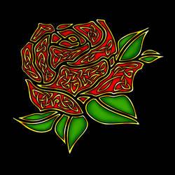 Celtic Rose by The-Arkadian