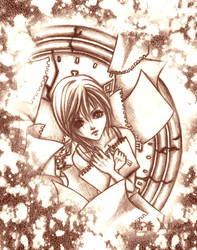 .:KH2 - Scattered Pages:. by WoodenOrchid