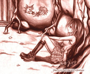 .:KH2 - Always in My Heart:. by WoodenOrchid
