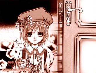 -+ Scrap - Manga Panel +- by WoodenOrchid