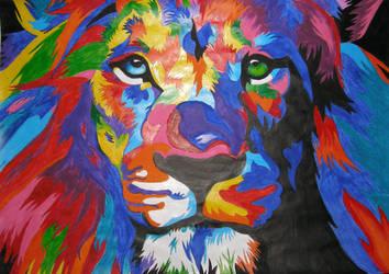 Lion by Kris-Min-YG