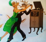 Victrola Tango by FlapperFoxy
