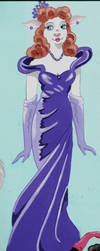 1940's Evening Dress by FlapperFoxy