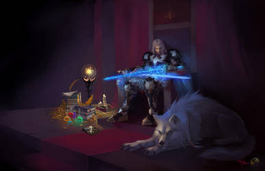 Daniel Defo and Fog by Orphen-Sirius