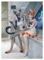 Sheega and Neko by Orphen-Sirius