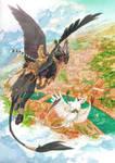 Ra and Kiya by Orphen-Sirius